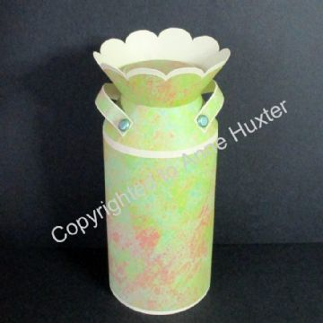 3D Milk Churn/Pail Template